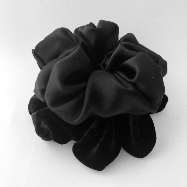 Noir Duo Scrunchie Pack