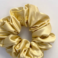 'Tayla xo' Scrunchie - Baby Yellow
