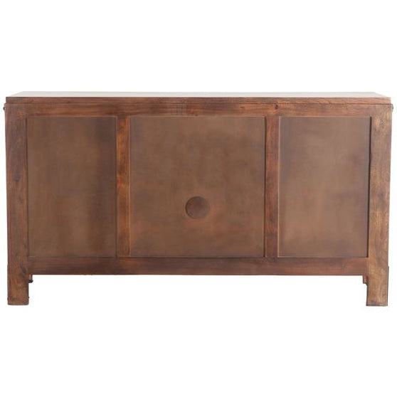 Irondale 62 Inch Mid Century Sideboard With Cast Iron Legs