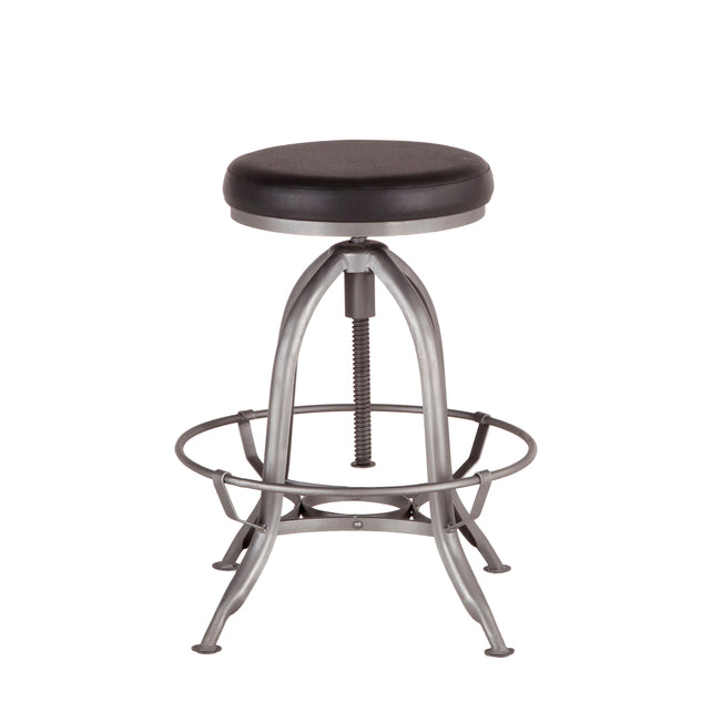 Swell Bethlehem Backless Bar Stool With Adjustable Swivel Mechanism Pabps2019 Chair Design Images Pabps2019Com