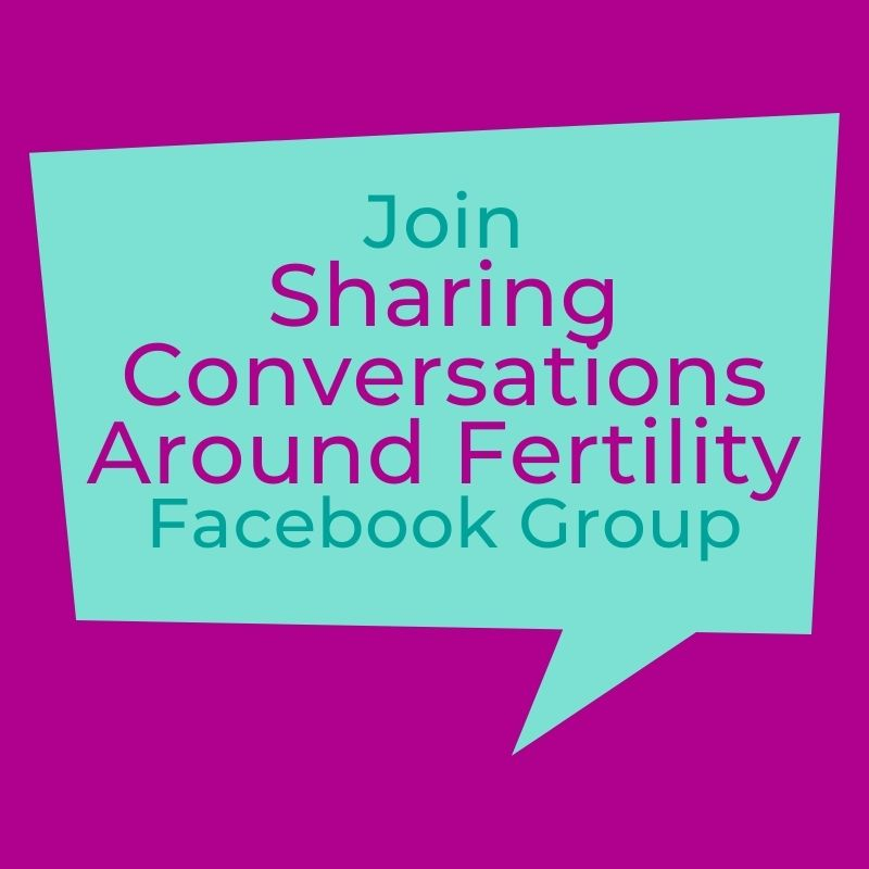 Fertility Conversations, Let's open up the conversation around infertility, fertility facebook group