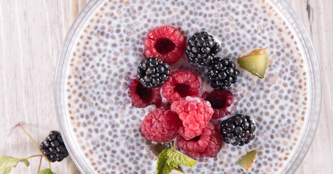 Fertility Boosting Foods Chia Pudding