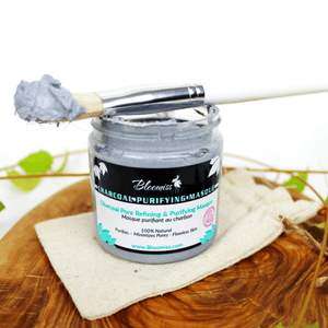 Charcoal Purifying Masque - Bloomiss Naturals
