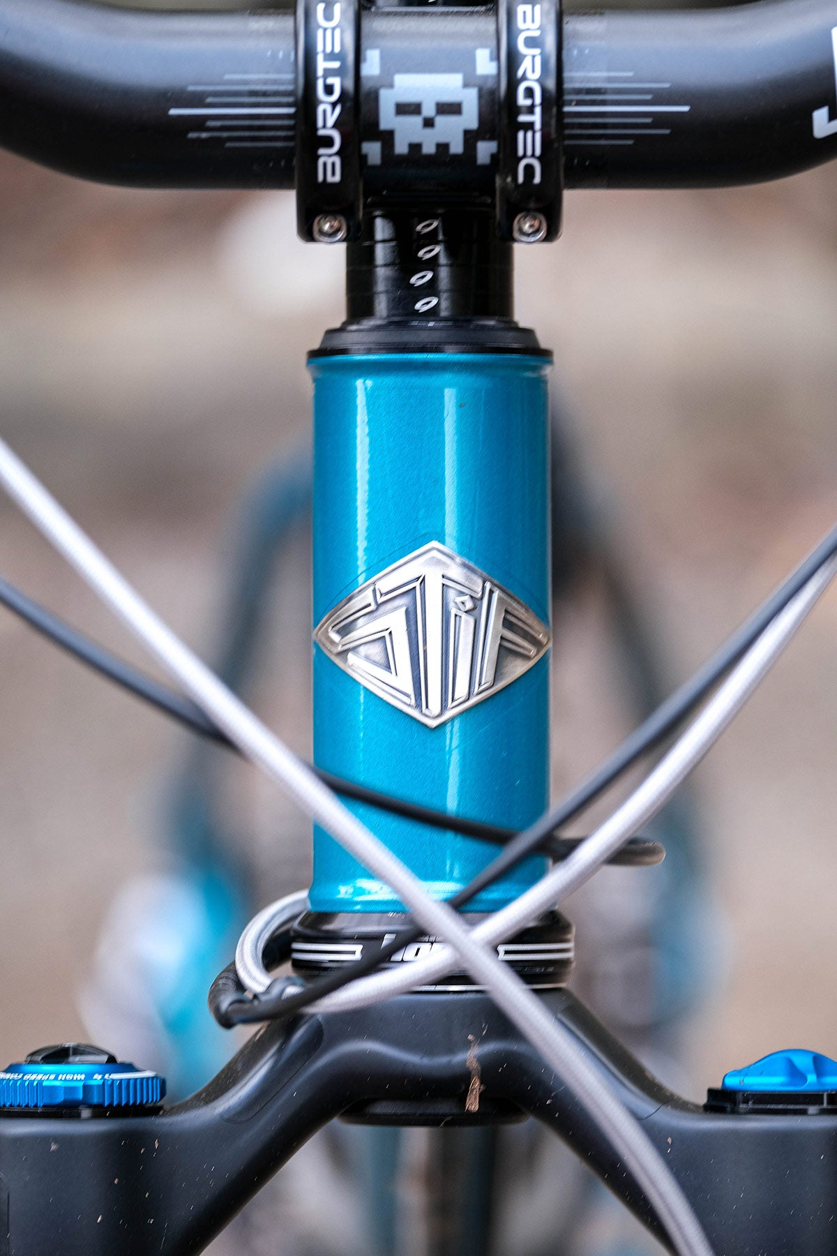 Stif headtube badge