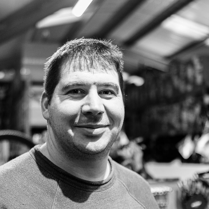 Ben Raynor, Stif Mountain Bikes head Mechanic