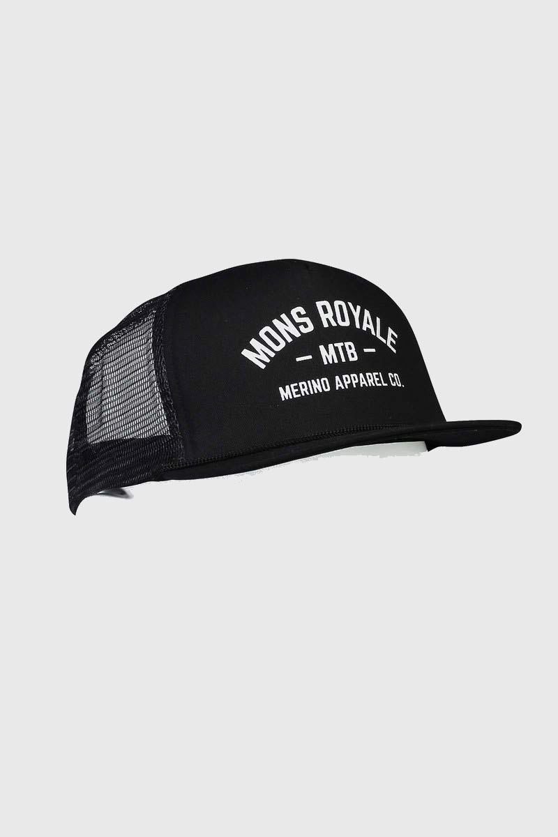 Mons Royale ACL Trucker Cap Black