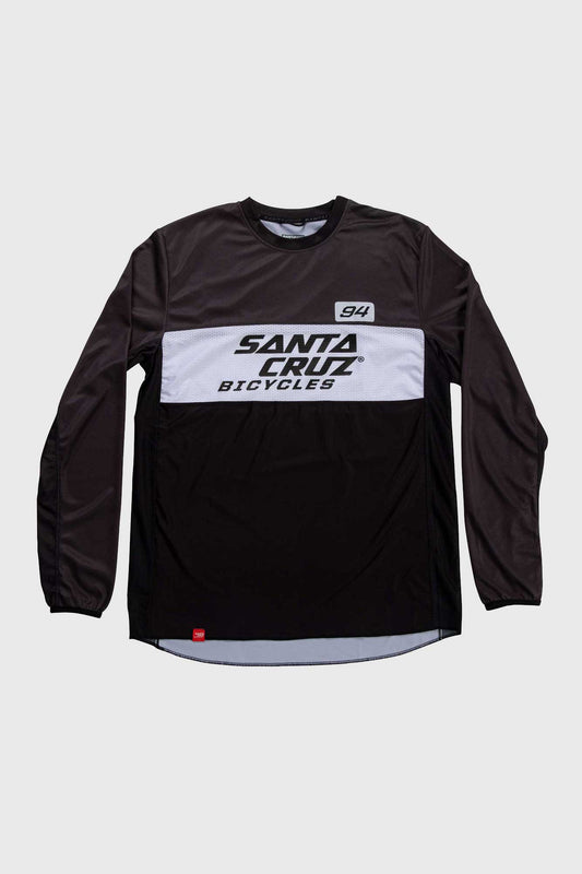 Santa Cruz MX Enduro Long Sleeve Trail Jersey - Black