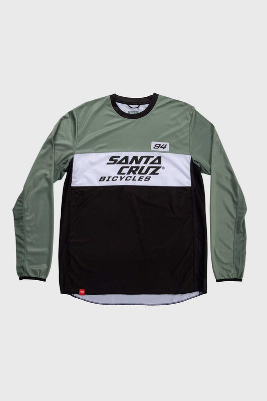 Santa Cruz MX Enduro Long Sleeve Trail Jersey - Olive