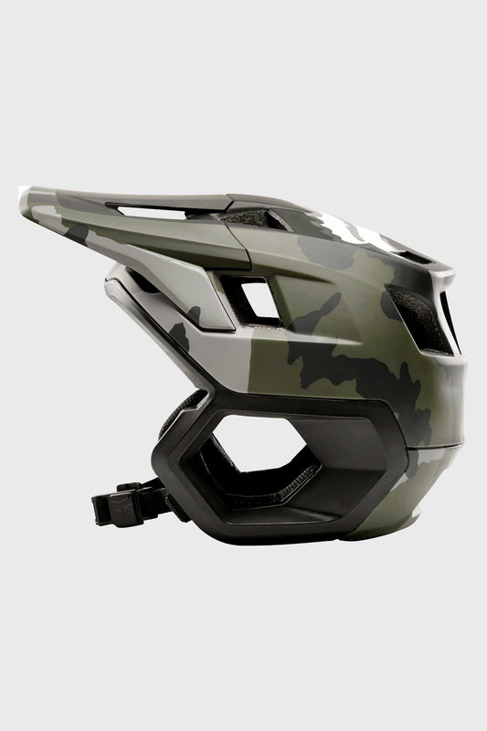 Fox Dropframe Helmet - Black Camo
