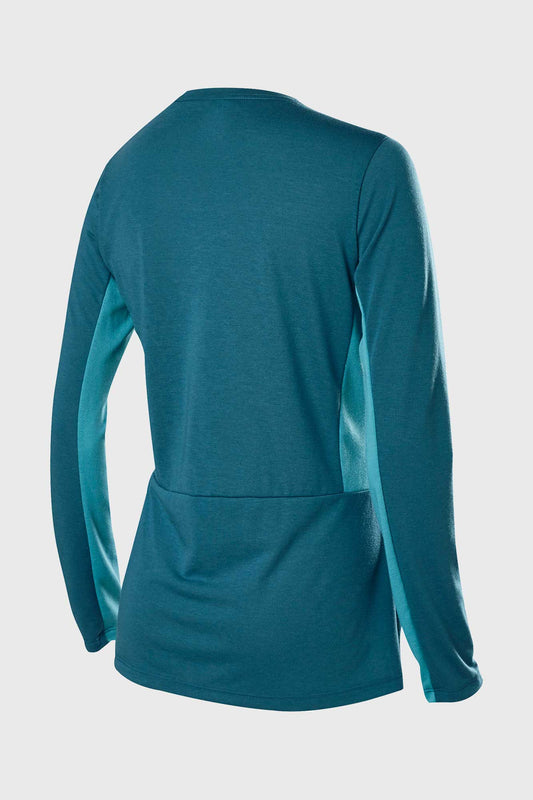 Fox Womens Ranger DriRelease Long Sleeve Jersey - Maui Blue