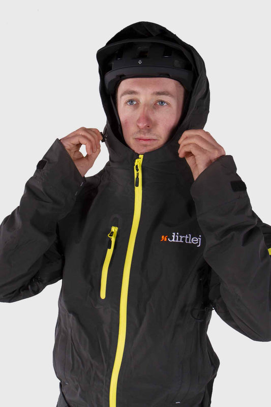 Dirtlej Core Edition Dirtsuit - Grey/Yellow