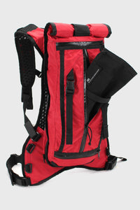 Acre the Hauser 14Ltr Backpack Red Cloth