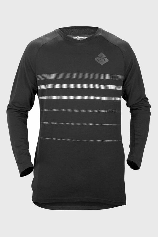 Sweet Protection Badlands Merino LS Jersey Black