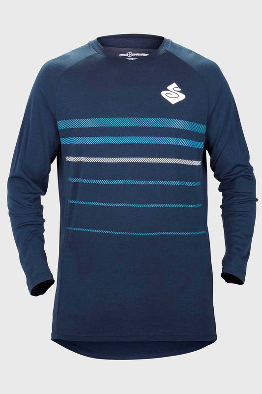 Sweet Protection Badlands Merino LS Jersey Blue