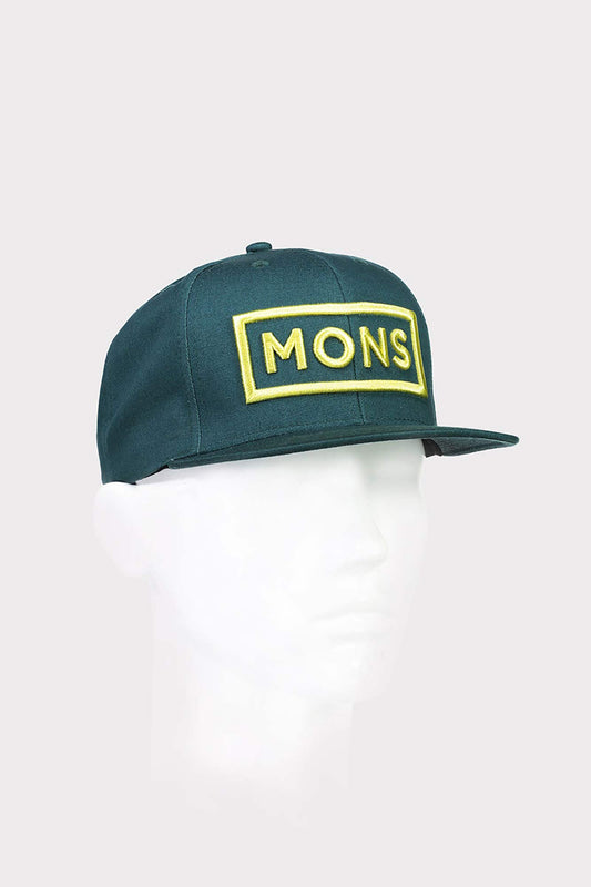 Mons Royale Conner Box Logo Cap Pacific
