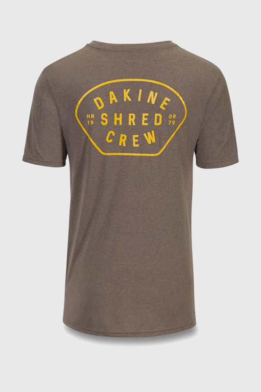 Shred Crew Tech Tee Grit