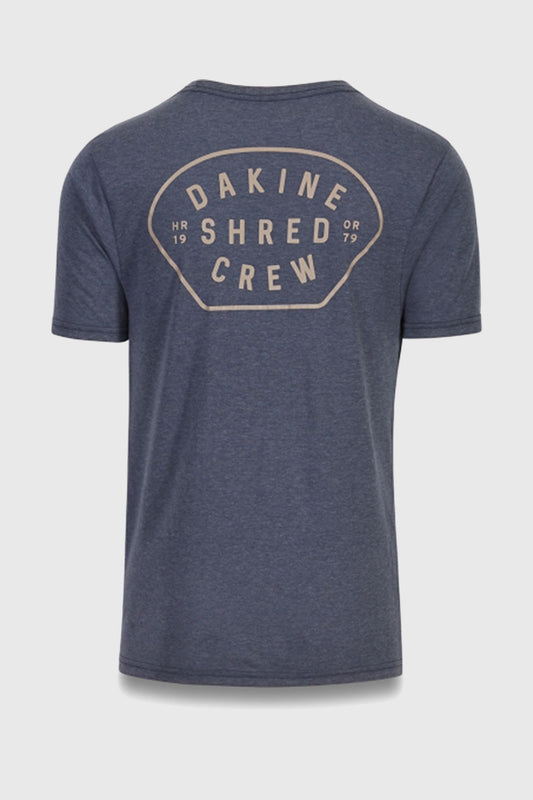 Shred Crew Tech Tee heather Navy