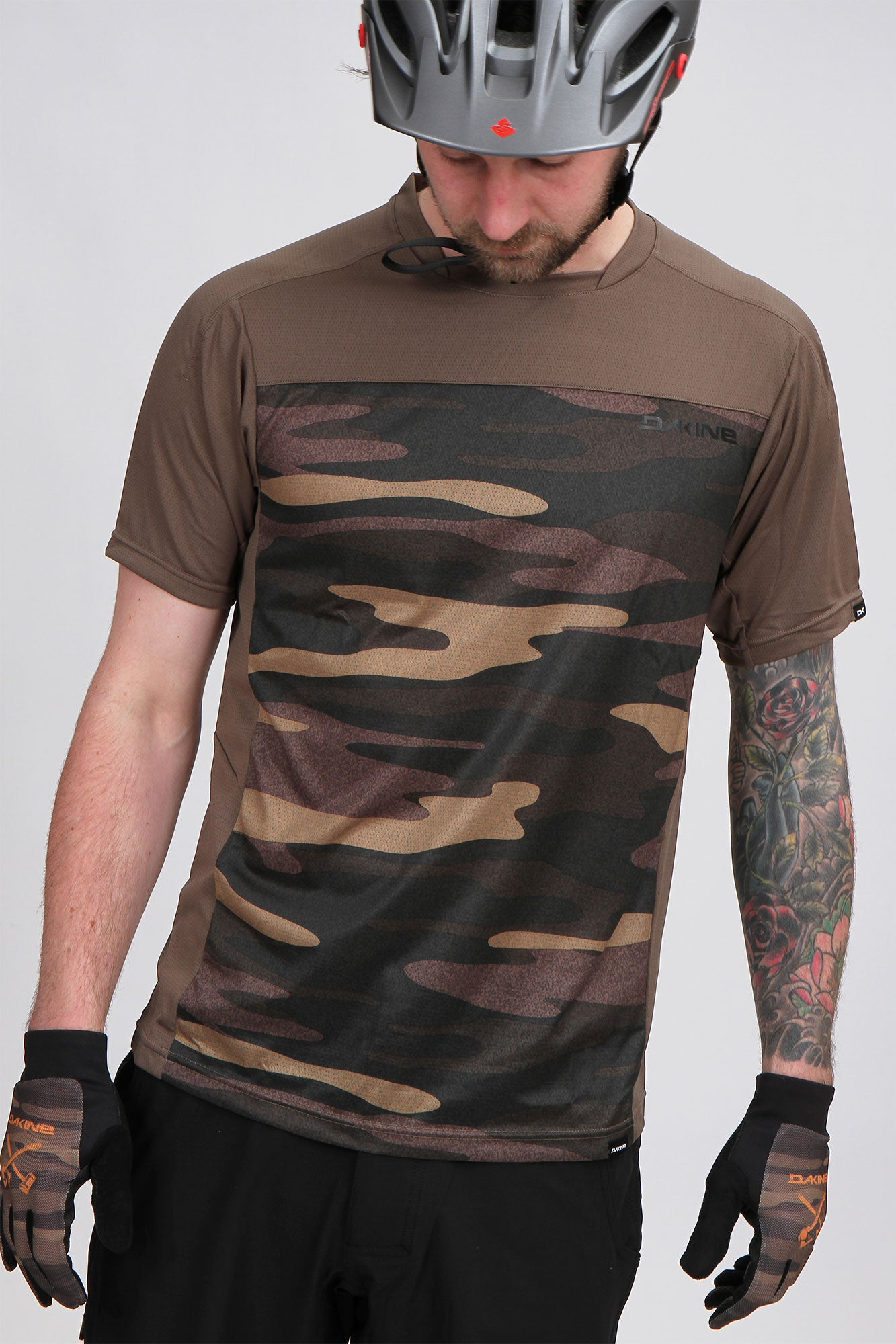 Dakine Charger SS Jersey Field Camo