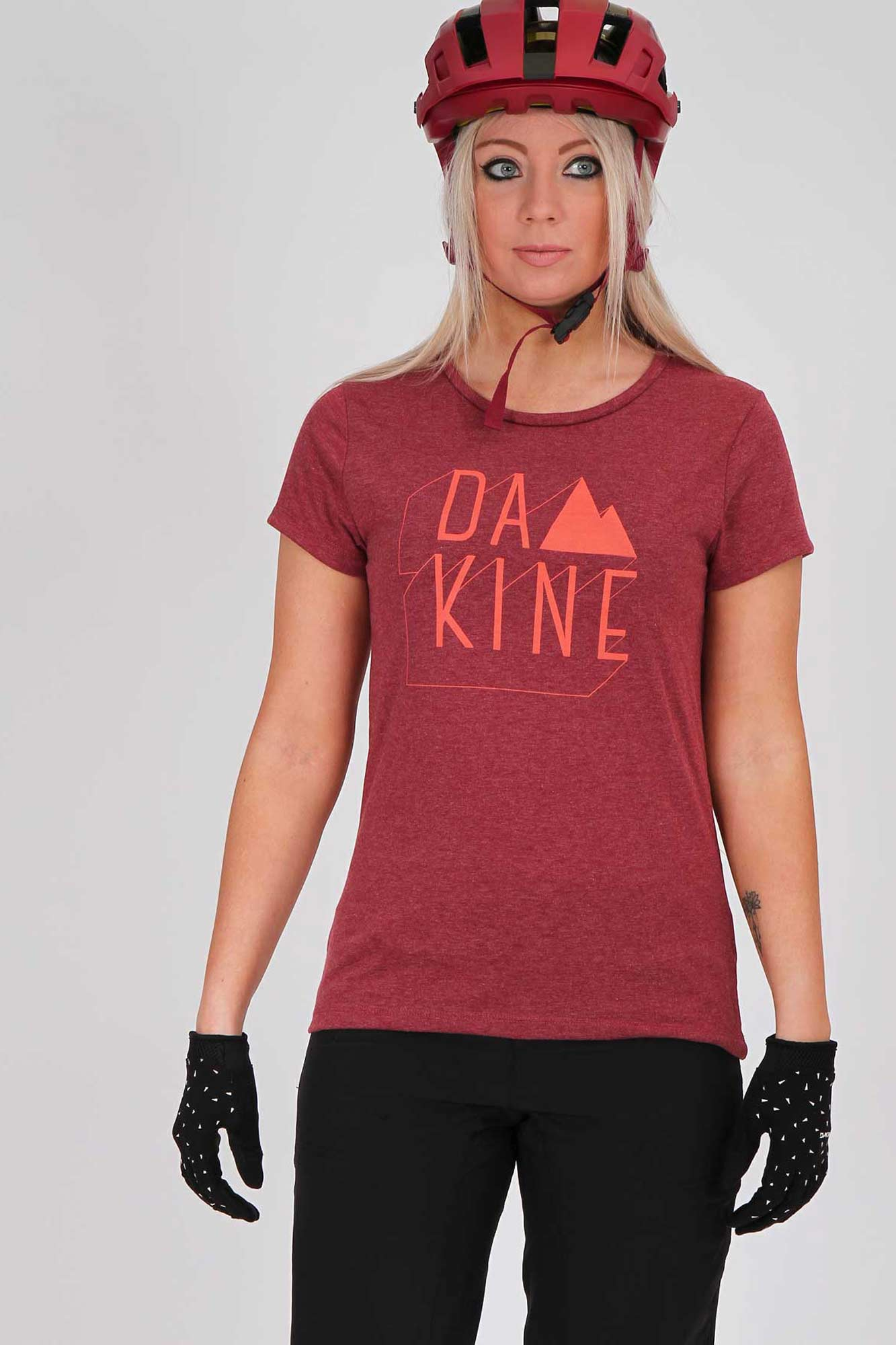 Dakine Womens Da MTN Heather Burgundy