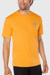 Dakine Diamond Logo T Shirt - Golden Glow