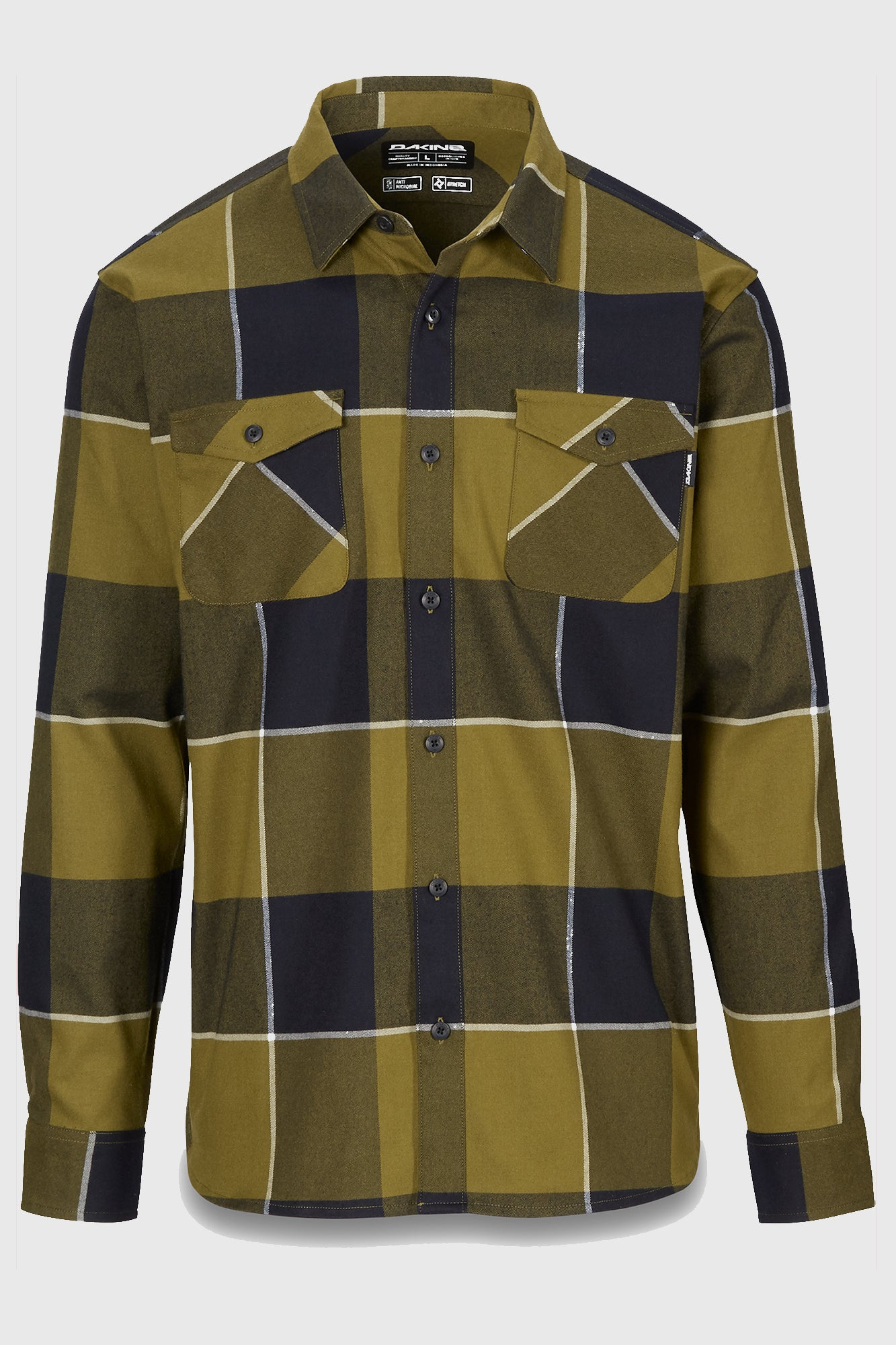 Dakine Underwood Flannel Olive Drab