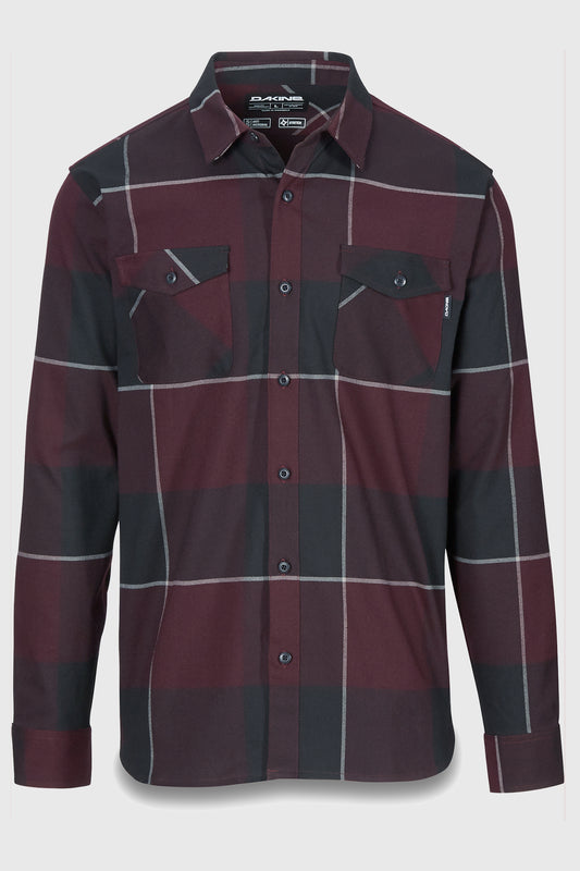 Dakine Underwood Flannel Plum Shadow