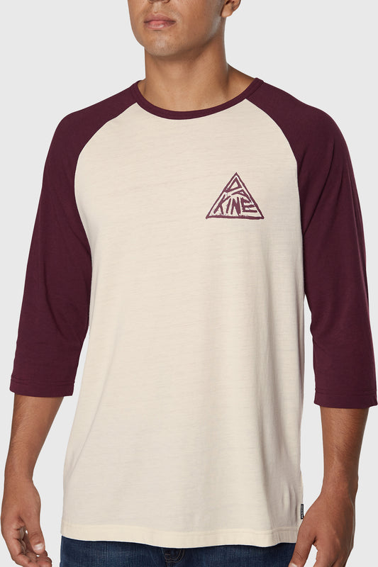 Dakine Walker 3/4 Tee Plum Shadow