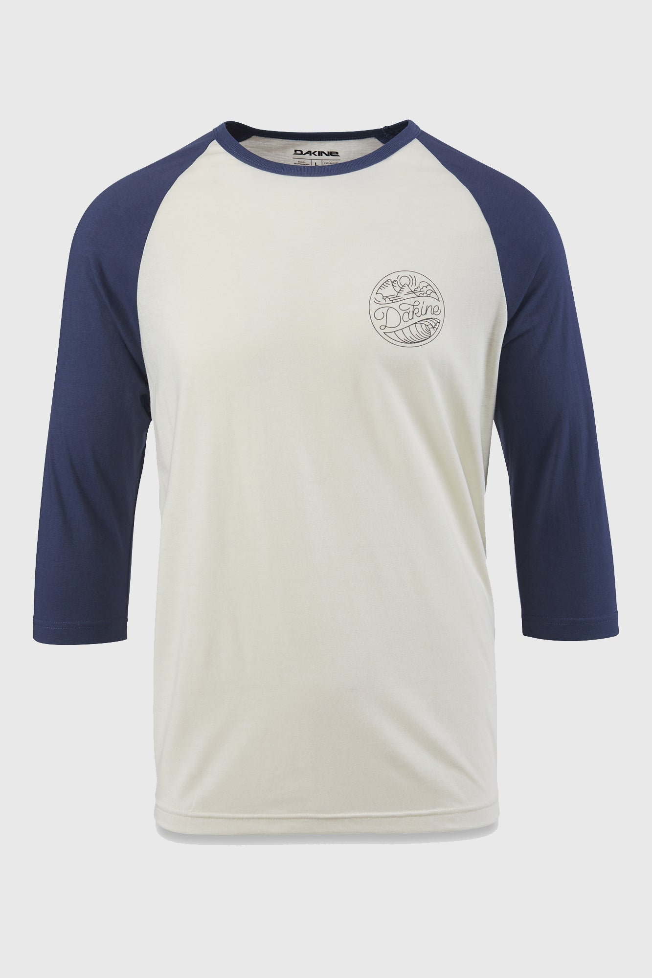 Dakine Walker Washed Indigo Baseball Tee