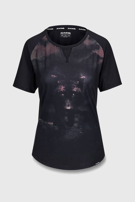 Dakine Womens Xena Short Sleeve Jersey Dark Wolf