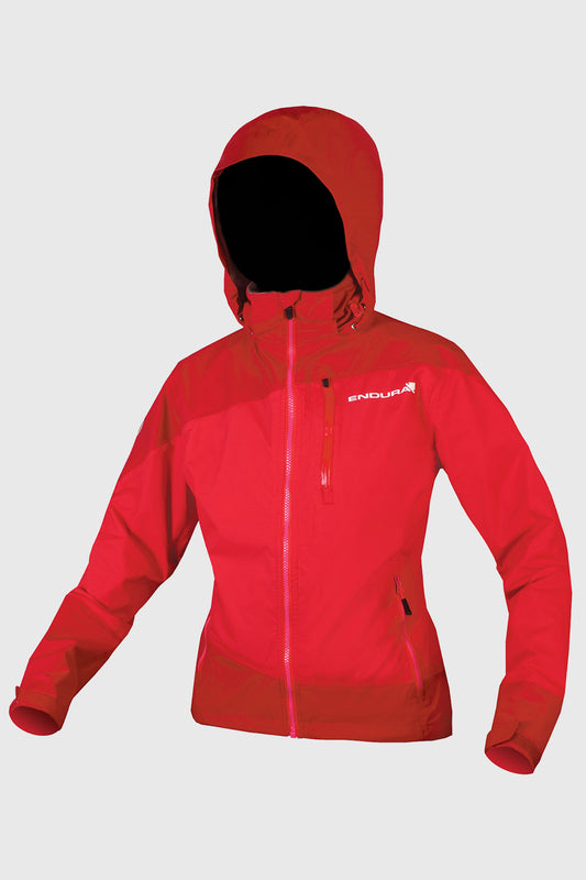 Womens Singletrack Jacket Red