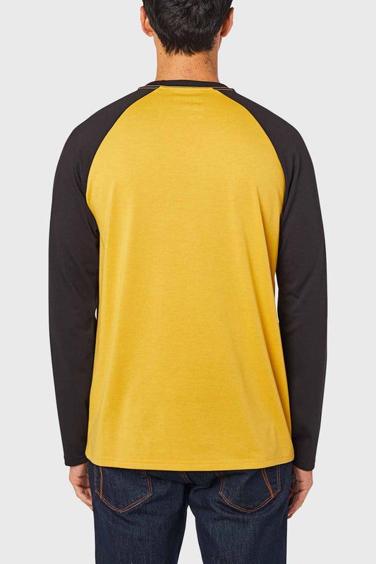 Fox Tournament Long Sleeve Tech Tee - Mustard