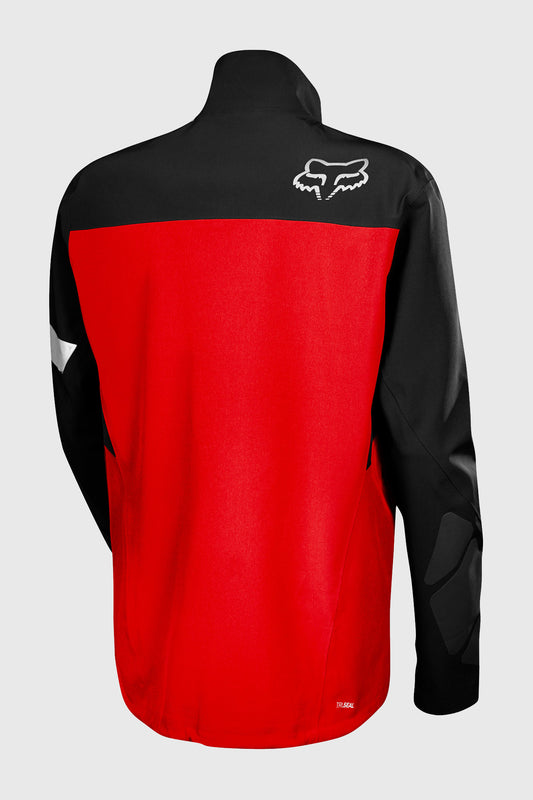 Fox Downpour Pro Jacket - Black/Red - Back