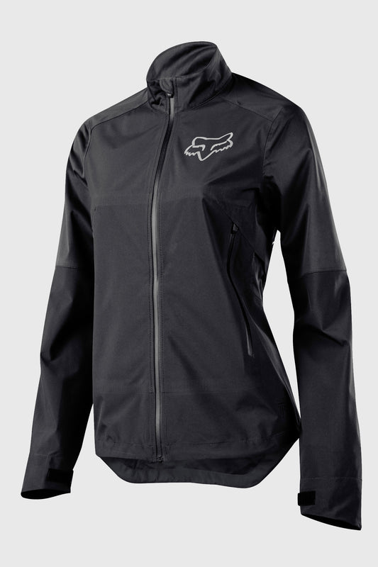 Fox Attack Water Womens Jacket Black