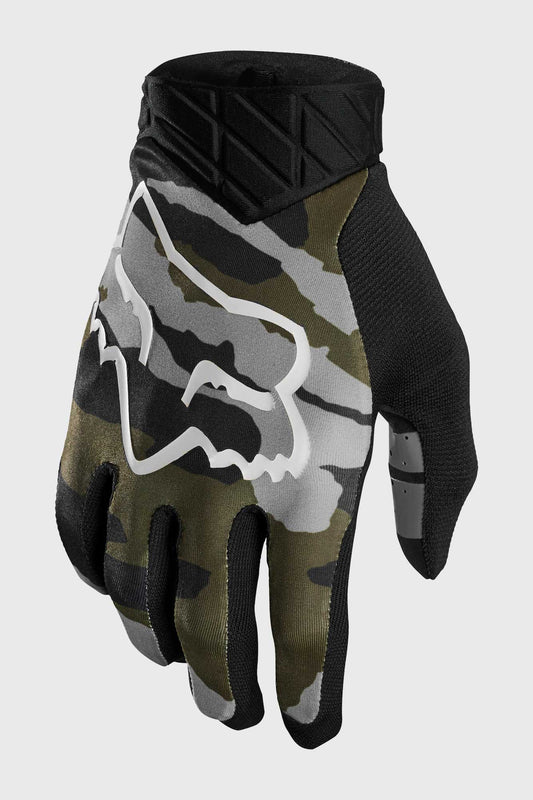 Fox Flexair Glove - Green Camo