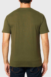 Fox Midway Short Sleeve Airline Tee - Olive