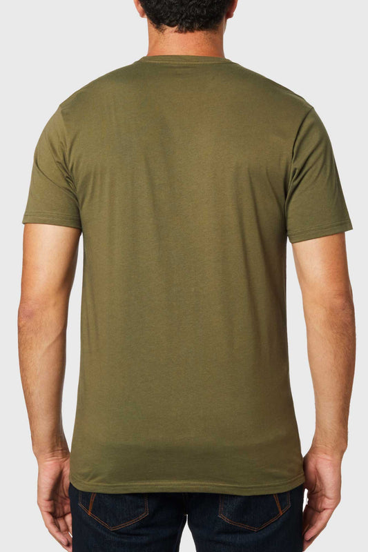 Fox Shield Tee - Olive