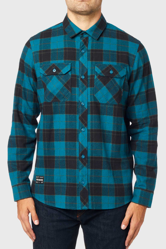 Fox Traildust 2.0 Flannel Shirt - Maui Blue