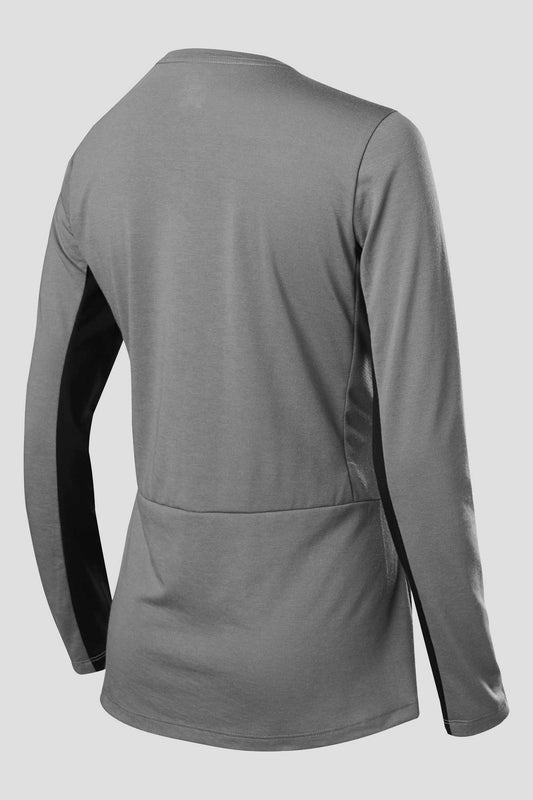 Fox Ranger Dri-Release Long Sleeve Womens Jersey - Pewter