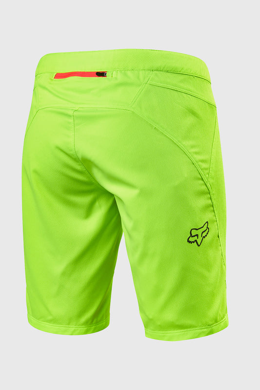 Fox Women's Ripley Short Flo Yellow Rear