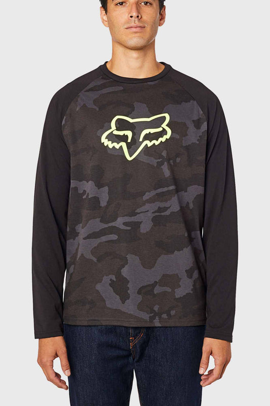 Fox Tournament Long Sleeve Tech Tee - Camo