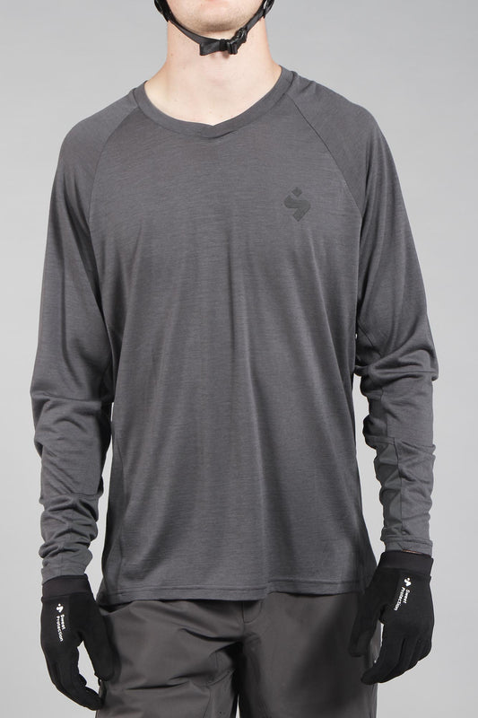 Sweet Protection Hunter Long Sleeve Merino Jersey Stone Grey