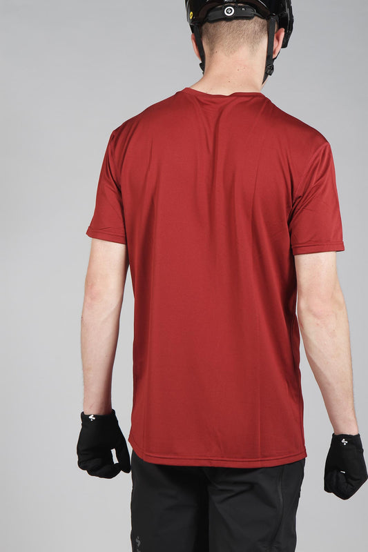 Sweet Protection Hunter Short Sleeve Jersey Earth Red