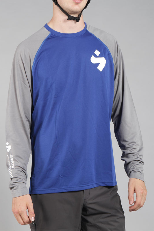 Sweet Protection Hunter Long Sleeve Jersey Race Blue