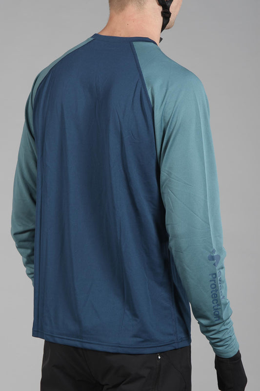 Sweet Protection Hunter Long Sleeve Jersey Ocean Blue
