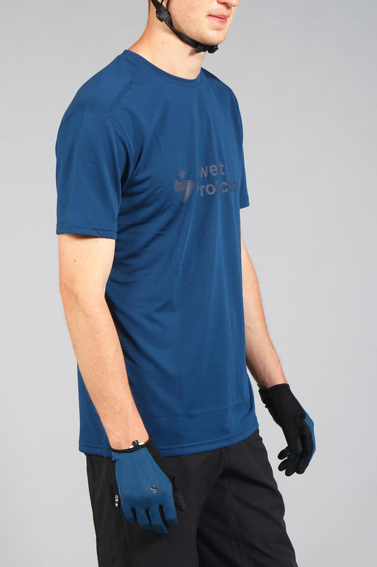 Sweet Protection Hunter Short Sleeve Jersey Ocean Blue