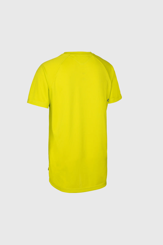 Ion Scrub Jersey Lime Yellow rear