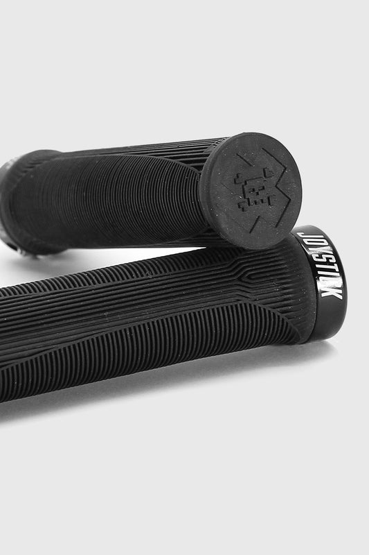 Joystick Imprint single sided lock-on grips black