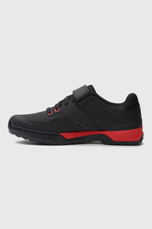 Five Ten Kestrel Lace Up Shoe Black and Red insid