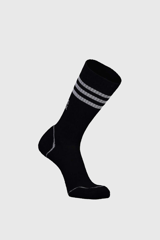 Mons Signature Sock Black Grey