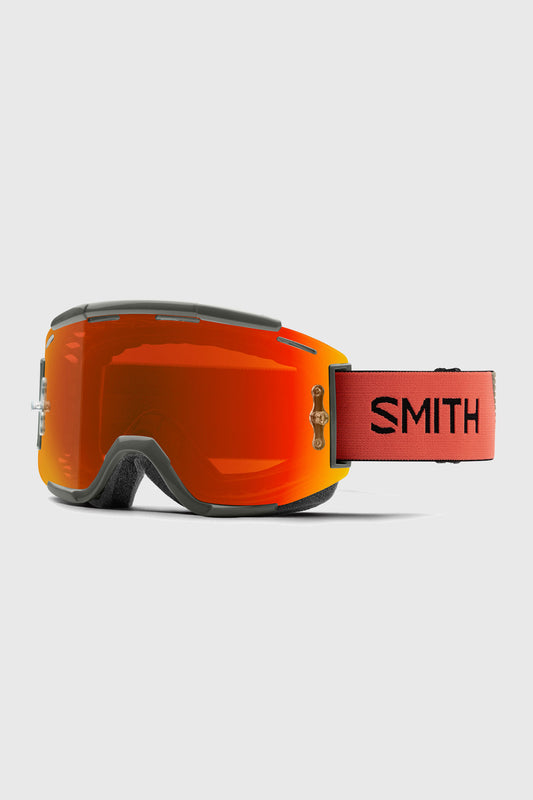 Smith Squad Goggles Sage Red Rock w/ Everyday Red Mirror Chromapop